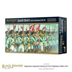 BLACK POWDER ~ NAPOLEONIC ~ SPANISH INFANTRY (2nd & 3rd BATT.) 1805-11 ~ NEW