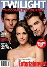 Entertainment Weekly Magazine ROBERT PATTINSON TWILIGHT THE COMPLETE JOURNEY