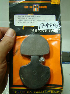 NEW brake pads for Harley calipers FL Softail FXR Dyna Sportster 18-537 EPS17420