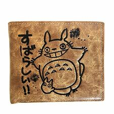 Studio Ghibli My Neighbour Totoro Short Wallet Purses Credit Card Holder Anime