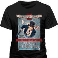 Batman - Penguin Carnival T Shirt Size:S,L - NEW & OFFICIAL