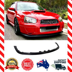 Front Lip Spoiler for Subaru Impreza WRX RS Blobeye (2003-2005) (NON STI)