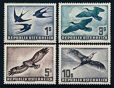 Echte Briefmarken mit Vögel-österreichische