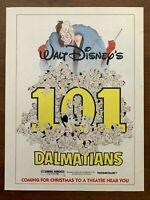 1985 Disney's 101 Dalmatians Authentic Vintage Print Ad/Poster Pop Art Décor