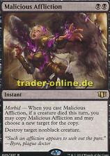 Malicious Affliction (Boshafte Heimsuchung) Commander 2014 Magic