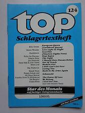 TOP Schlagertextheft Nr 124, Limahl, Jennifer Rush