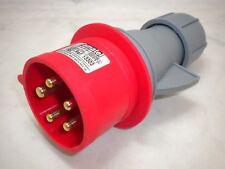 Red BS4343 plug 415V 32A 3P+N+E IP44 (Box of 5)