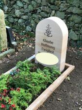 Grabeinfassung Einfassung Urnengrab Naturstein Bordstein Umrandung Sandstein NEU