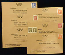 Canada, Lot of 6 Covers O.H.M.S. franked official stamps with letter G #5717