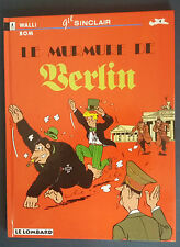 Gil Sinclair 4 EO Le Murmure de Berlin Walli Bom Lombard Rare *