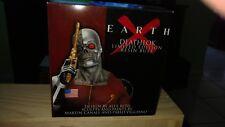 Dynamic Forces Marvel Earth X Deathlok Mini Bust Design by Alex Ross