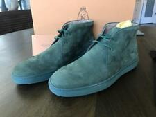 TODS MENS Green suede Nuovo polacco Sport Casetta high top shoe boot