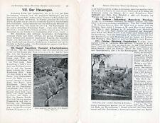 Hessengau 1910 orig. Wander-Kapitel (8 S) Baunatal Gudensberg Gensungen Fritzlar