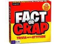 FACT OR CRAP Party Family Board Trivia Attitude Game Birthday Christmas Gift