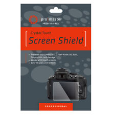 Promaster 4233 Glass Screen Shield For Sony A6400 Cameras DR6053