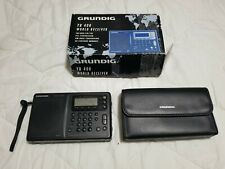 GRUNDIG YB400 YACHT BOY WORLD RECEIVER AM/FM/SW w/ case GREAT!