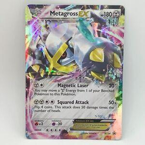 Metagross EX XY34  - Black Star Promo - Pokemon Card TCG - EXC