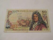 billet cinquante francs racine 76898 F. 6-3-1969.F. X.138