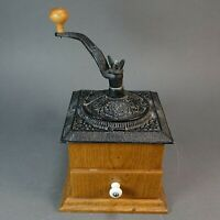 Vintage/Antique Heavy Cast Iron Coffee Grinder with Collection Drawer