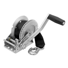 Fulton 1,100 lbs Single Speed Winch w/20' Strap Included Boat Trailer Hand Crank