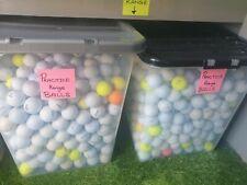 150 Practice Range Golf Balls Mixed Grade Joblot Bundle Cheap Titleist Srixon