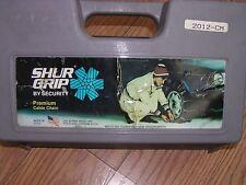 SNOW/TIRE CABLE CHAINS SCC SG2012-CM, 205/50R15, P205/50R15, P205/60R390,