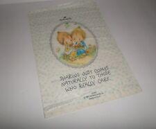Betsey Clark Vintage Hallmark Store Shopping Paper Bag Indiana 1981 Rare