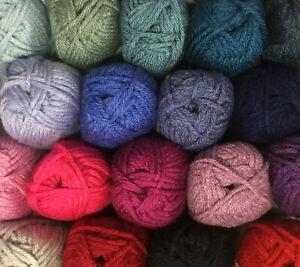 King Cole Big Value Super Chunky Yarn Wool Knitting 100% Premium Acrylic 100g