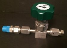 "Nupro 1/4"" Stainless Steel High-Pressure Diaphragm-Sealed Valve # SS-DSV51"
