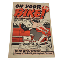 "Vintage ""On Your Bike - Your Guide to Cycling"" in London 1980's VGC Info Booklet"