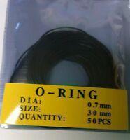 Watch Back O-Ring Waterproof Seal Gasket
