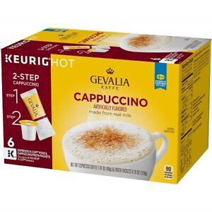 Gevalia Kaffe 2 Step Cappucino K Cups