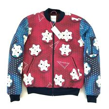 BNWT ADIDAS ORIGINALS MARY KATRANTZOU Padded Neoprene Bomber Jacket, Size UK 10