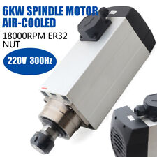 Air Cooled Spindle Motor Electric Spindle For Cnc Router Engraving Milling Grind