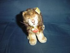 "VINTAGE STEIFF GERMANY ""LEO THE LION"" 0812/12 SIZE 5"" X 6"""