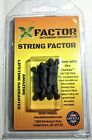 X-Factor Outdoor Products String Cable Silencers 4 Pack Black Archery Bow Arrow