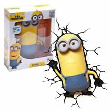 New Minions Kevin 3D Deco light Night Light LED Bulbs Children's Official