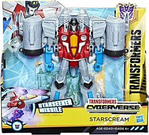 Transformers Cyberverse Starscream  - NEW - FREE SHIPPING