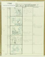 Beetlejuice Original Hand Drawn Storyboard Animation Sketch Page 68 (2-5)