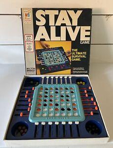 Vintage 1971 STAY ALIVE Marble Game ~ Milton Bradley COMPLETE