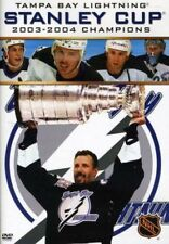 TAMPA BAY LIGHTING- STANLEY CUP: 2003-2004 CHAMPIONS (DVD) R-1, NEW, FREE POST