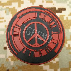 Metal Gear Solid MGS PEACE WALKER Special Force Group 3D PVC Patch