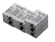 New 7 Piece LP-E8 Battery for 550D 650D 700D Kiss Rebel X5 X6i T4i T3i T2i 600d
