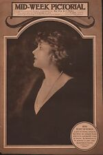 MISS RUBY DE REMER -MOST BEAUTIFUL WOMAN IN AMERICA 1920 SELECTED BY PAUL HELIEU
