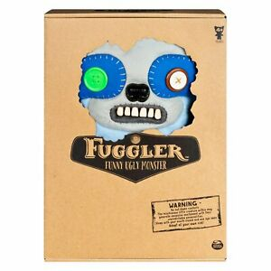 """FUGGLER SICKENING SLOTH PERIWINKLE BLUE DELUXE PLUSH 12"""" FUNNY UGLY MONSTER"""