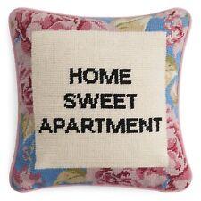 """Sparrow & Wren Nap Queen Needlepoint Decorative Pillow, 12"""" x 12"""" G951"""