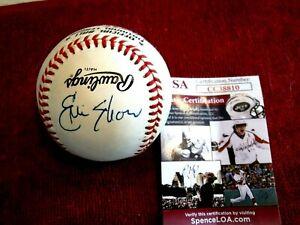 ERIC SHOW/PETE ROSE (Rare) Combo Signed N.L.Baseball -JSA Authenticated #CC38810