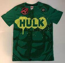 GLOW IN THE DARK Marvel Comics Shirt: INCREDIBLE HULK! Men's LARGE: MSRP $28!
