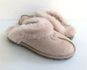 UGG COQUETTE TWINKLE QUARTZ SHEARLING MOCASSIN SLIPPERS US 10 / EU 41 / UK 8