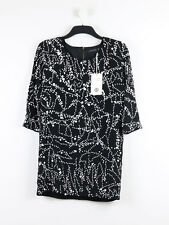 BNWT Religion Womens Black Embellished Dress Size 10